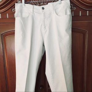Levi's 515 white denim Capris Orig $38